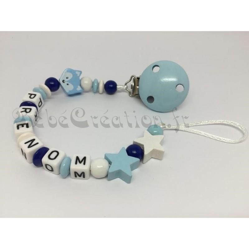 Etoile bleu marine silicone