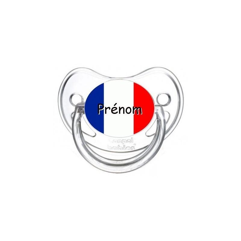 Sucette personnalisée Pays / Régions / Drapeaux Thème Drapeaux Pays Série :1 Tétine personnalisée Bébé Création