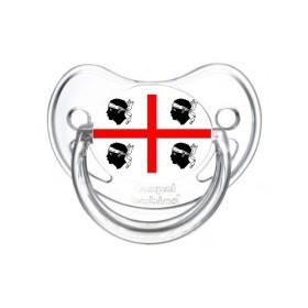 Sucette personnalisée Pays / Régions / Drapeaux Drapeau Sardaigne sucette personnalisée