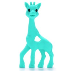 Girafe dentition silicone turquoise