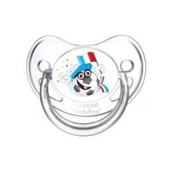 Sucette personnalisée Sports / Loisirs Thème foot Tétine personnalisée Bébé Création