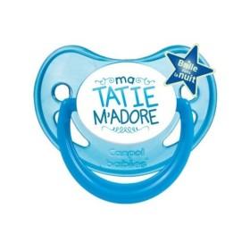 Sucette personnalisée Message - Humour Thème Tatine et Tonton Tétine personnalisée