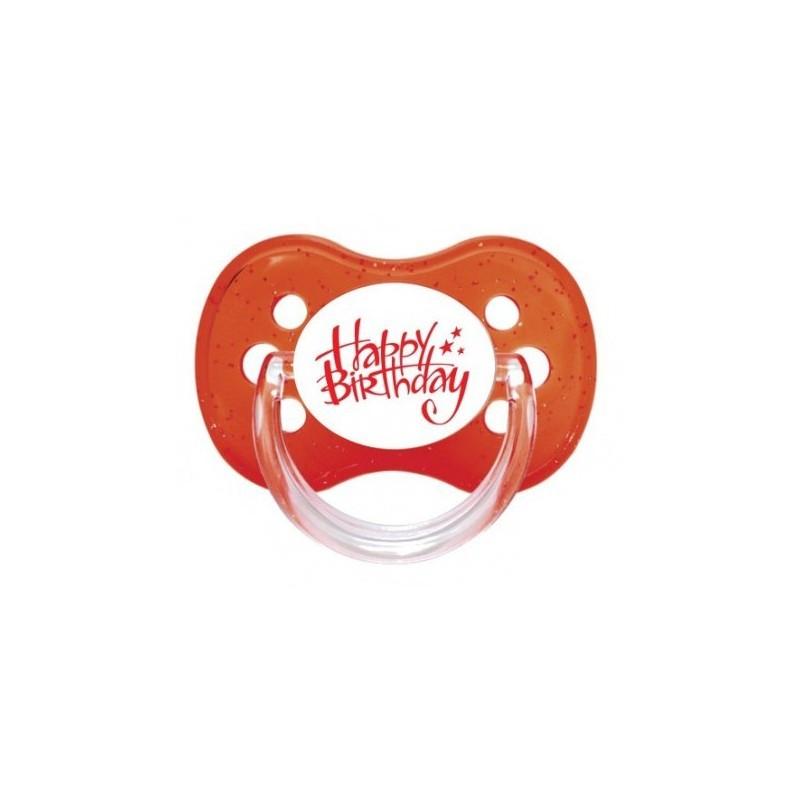 Sucette personnalisée Sucette Message - Humour Birthday sucette personnalisée