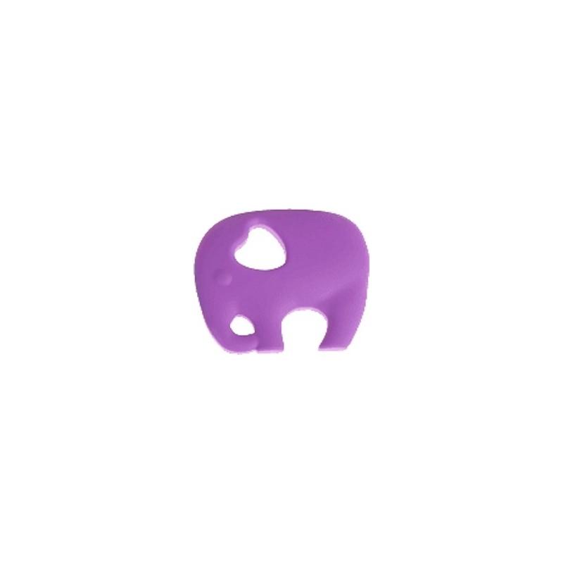 Eléphant de dentition violet