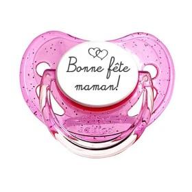 Tétine-prenom-Sucette personnalisée Fête des maman