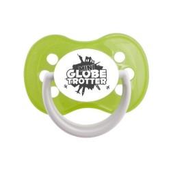 Tétine prénom laser  Humoristique - sucette personnalisée Sucette personnalisée Mini globe trotter