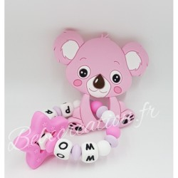 hochet-personnalise-silicone-koala-