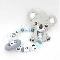 hochet-silicone-perle-prenom-koala-gris