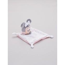 Doudou personnalisé broderie Disney ourson en peluche cape de bain carnet de santé personnalisé prénomDoudou Minnie étoile
