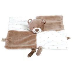 Doudou personnalisé broderie Disney ourson en peluche cape de bain carnet de santé personnalisé prénomdoudou Tom l'ours Nattou