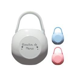 boite protection tétines personnalisée, boite sucette personnalisée