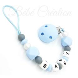 attache-tetine-hexagone-bleu-attache-sucette-prenom