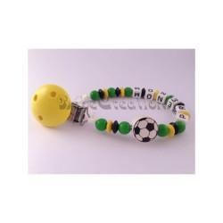 Attache-tétine-personnalisée-football-jamaique