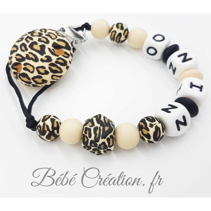 Attache-tetine-Leopard