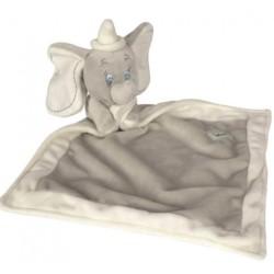 Doudou personnalisé broderie Disney ourson en peluche cape de bain carnet de santé personnalisé prénomDumbo Gris