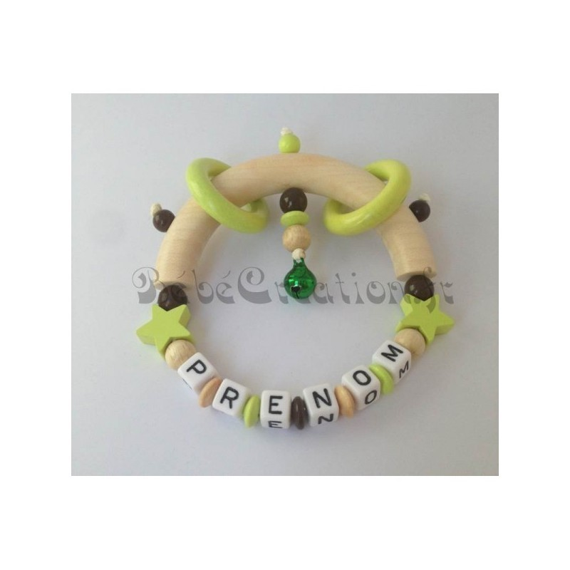 Hochets-perles-en-bois-personnalisable-Hochet-Etoile-Anis-personnalise