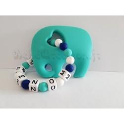 hochet-personnalise-silicone-elephant-turquoise
