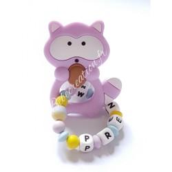 hochet-personnalise-silicone-raton-parme