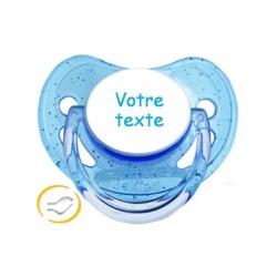 tetine-personnalisee-couleur-a-paillettes-bleue