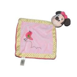 Doudou personnalisé broderie Disney ourson en peluche cape de bain carnet de santé personnalisé prénomMinnie oiseau