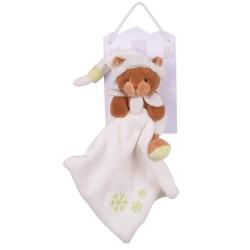 Doudou personnalisé broderie Disney ourson en peluche cape de bain carnet de santé personnalisé prénomOurson chocolat histoir...