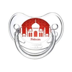Sucette personnalisée prénom Eid al Fitr Tétine personnalisée