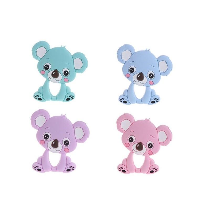 Jouet-dentition-silicone-koala