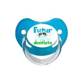 Sucette personnalisée prénom Futur Dentiste sucette personnalisée