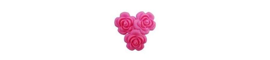 Attache tétine personnalisée, tétine personnalisées couleur fleur